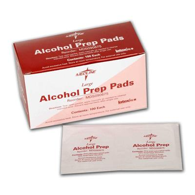 2-Ply Large Alcohol Pad [MDS090670]